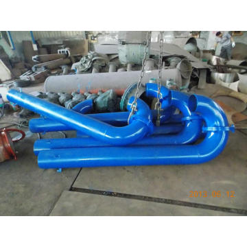 45 degree pipe bend cast iron pipe bend