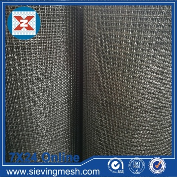 Mesh Wire Crimped Metal