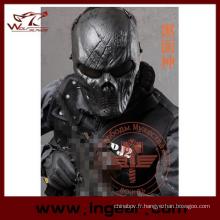 Treillis métallique tactique masque Ghost masque Cosplay masque militaire