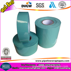 Self Adhesion Butyl Rubber Viscoelastic Corrosion Protection Body Adhesive Tape For Metallic Pipe