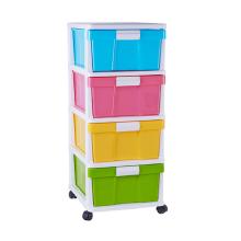 Venta caliente organizador de almacenamiento cajón gabinete de plástico para el hogar