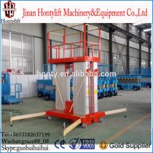 Plataforma elevadora de aluminio / elevador unipersonal / elevadores hidráulicos para una sola persona