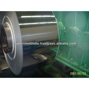 ASTM A240 TP304 Placa de acero inoxidable y hojas en forma de bobina