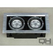 2 * 5 * 1w luz AR80 LED haba vesícula biliar