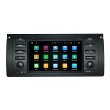 Hualingan 7 '' 2 DIN Car GPS Radio Player para BMW Série E39 5 1996-2003 / E53 X5 1999-2006 / M5 1996-2003 Carro
