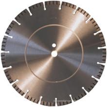 Lâminas de betão Turbo diamante (SUCSB) de soldagem a laser