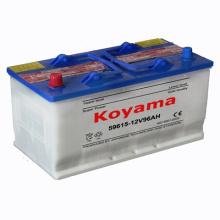 Bateria de carro ácida da bateria DIN59615 12V96ah do caminhão da bateria