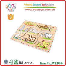 2015 good wood animal puzzle educational toys for toddlers