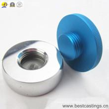 Piezas de torneado del CNC de aluminio anodizado color