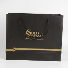 Custom Paper Packaging Gift Bag With Handle Wholesale