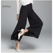 Casual Black Chiffon Loose Pants Women for Summer