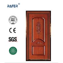 Porte de chambre en bois massif de haute qualité (RA-N019)