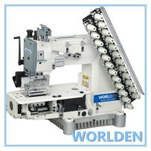 WD-008 Multi aguja cilindro máquina de cadeneta doble cama