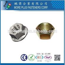 Taiwan High Strength Stainless Steel Copper Brass Aluminium Hex Nut Nylon Lock Nut