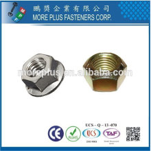 Taiwan High Strength Stainless Steel Copper Brass Aluminum Hex Nut Nylon Lock Nut