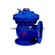 Opérateur pneumatique / hydraulique Vanne à boue à ouverture rapide