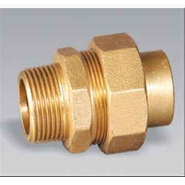 Brass pipe fitting bronze Male Equal Union