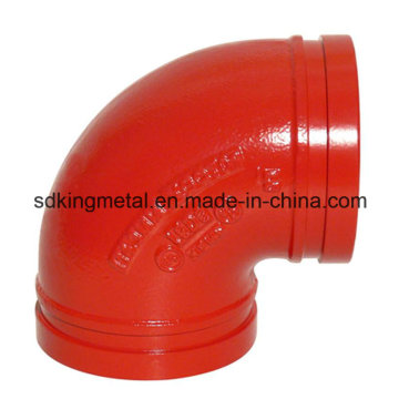 Ductile Iron 300psi NPT Threaded 90 Degree Elbow