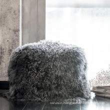 Household Real Rabbit Fur Pillow Case Cushion Cover