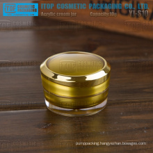 YJ-S10 10g hot-selling popular delicate trial sample size 10g acrylic nail containers