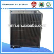 Precio de fábrica Radiador de tubo de aluminio para camiones BEIBEN 5065001101