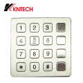 Industrielle Tastatur mit Watproof IP66 (KP7) Kntech