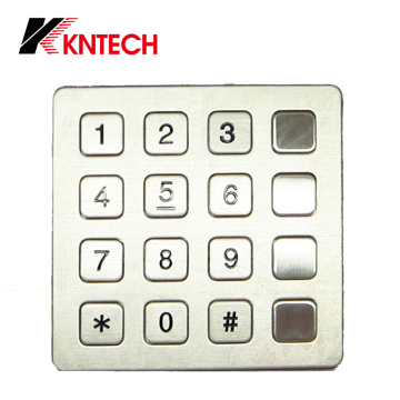 Teclado industrial a prueba de agua IP66 (KP7) Kntech