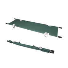 Sola camilla plegable militar de aleación de aluminio para la venta