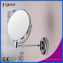 Fyeer haute qualité double côté grossissant miroir de maquillage (M0728)