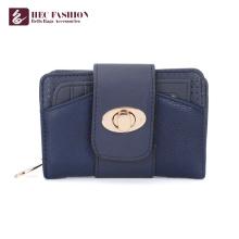 HEC Marque de mode femmes main sac à main cas de téléphone portable portefeuille