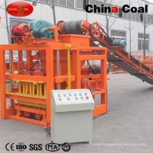 Máquina semiautomática de fabricación de ladrillos de bloques de cemento