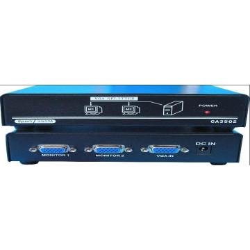 1X2 VGA Splitter / 2 puerto VGA Splitter 350MHz (CA3502)