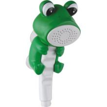 Pomme de douche ABS pour animaux avec design de grenouille