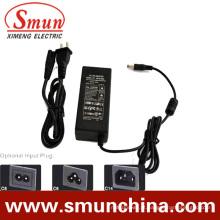 Adaptador de energia de carregamento de desktop de 48W 5-48VDC / DC