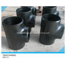 Dn450 Sch40 Seamless derecho de acero de carbono Tee