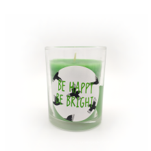 Soy Aroma Scented color Wedding Candle Glass Candle