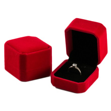 Luxury Red Velvet Ring Box Wholesale