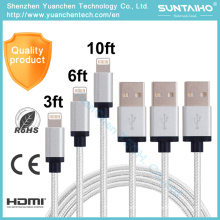 New 8pins USB Data Lightning Charging Cable for iPhone