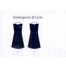 2016 Art und Weise neuer Entwurfs-Pullover Pinafore Schule-Uniform