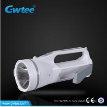 2w + 14 SMD haute puissance rechargeable lumière led