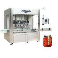 Soy Chili Sauce Bottle Bottling Filling Capping Filler Chiller Machine Chinese Liquid Filling Normal Pressure Filling 5ml-5000ml