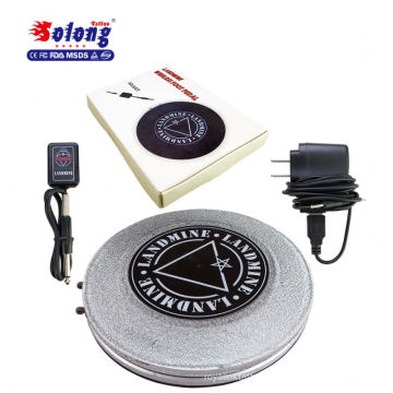 Solong Tattoo NEW Aluminous Wireless Tattoo Foot Pedal For Tattoo Power Supply Quality Color