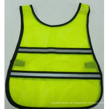Colete reflector da segurança da alta qualidade do baixo preço para crianças