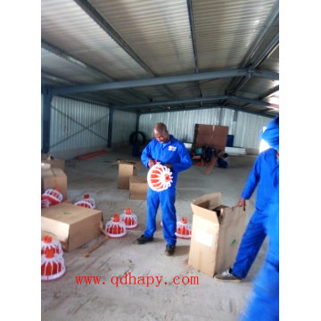 Chicken House Automatic Equipment with Prefab Poultry Shed in Modern Design and Good Quality
