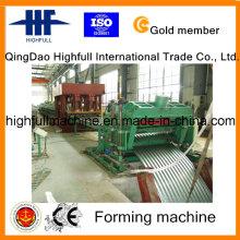 Máquina para fabricação de rolos ondulados Silos