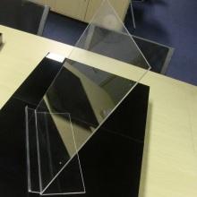 Chemise transparente de bureau d'affichage de vêtements acryliques de bureau