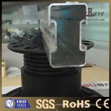 Suporte plástico ajustável da altura nova do projeto de Foshan para o Decking