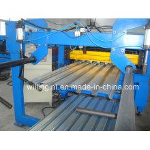 Machine de formage de rouleaux de construction de platelage de plancher en acier ISO