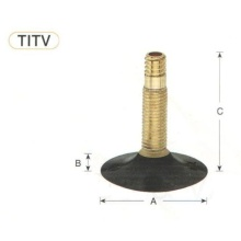 Motorcycle tyre valve TR4