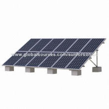 Ground Solar Panel Stand, Top Design, Customized and Best Price
